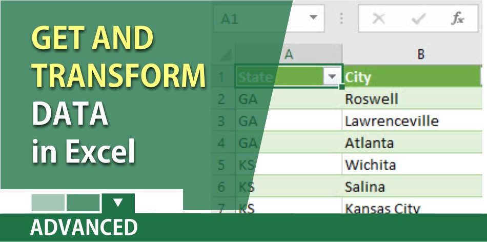 How to get and transform data in Microsoft Excel