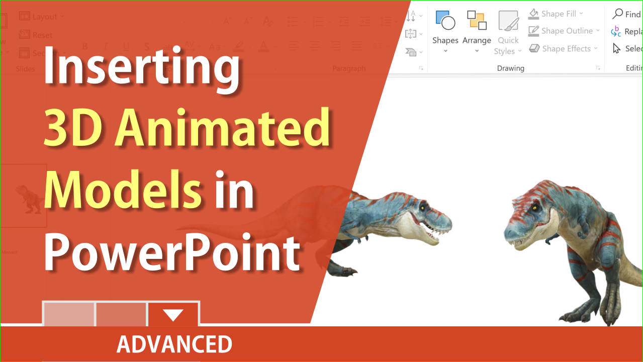 PowerPoint: 3D models - New Feature for Office 365 Subscribers