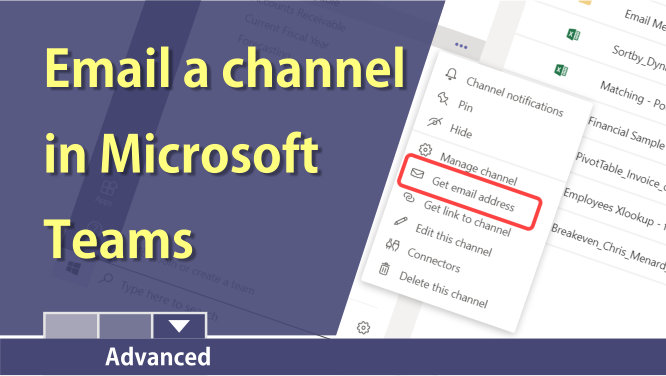 Send an email to a channel in Microsoft Teams
