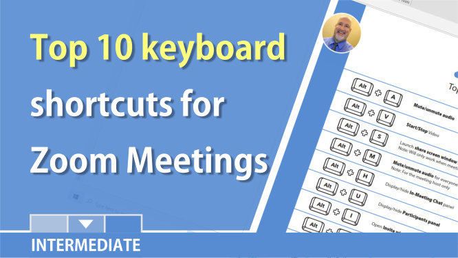 Zoom Meeting - Ten keyboard shortcuts for host and participants