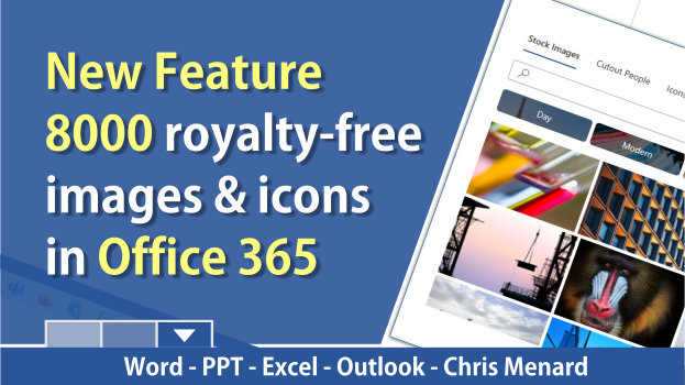 8000 royalty-free images are available in Office 365 - April 2020 update