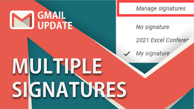 Multiple signatures in Gmail