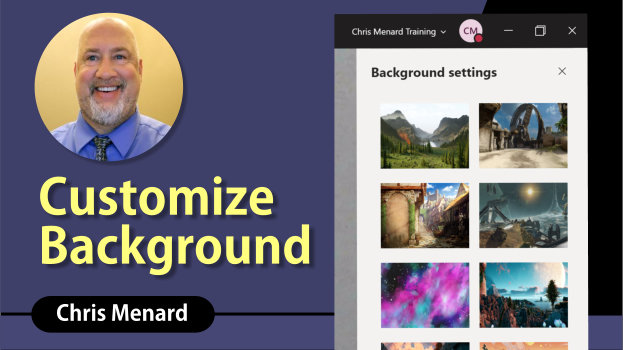 Microsoft Teams - Create customized backgrounds for Meetings