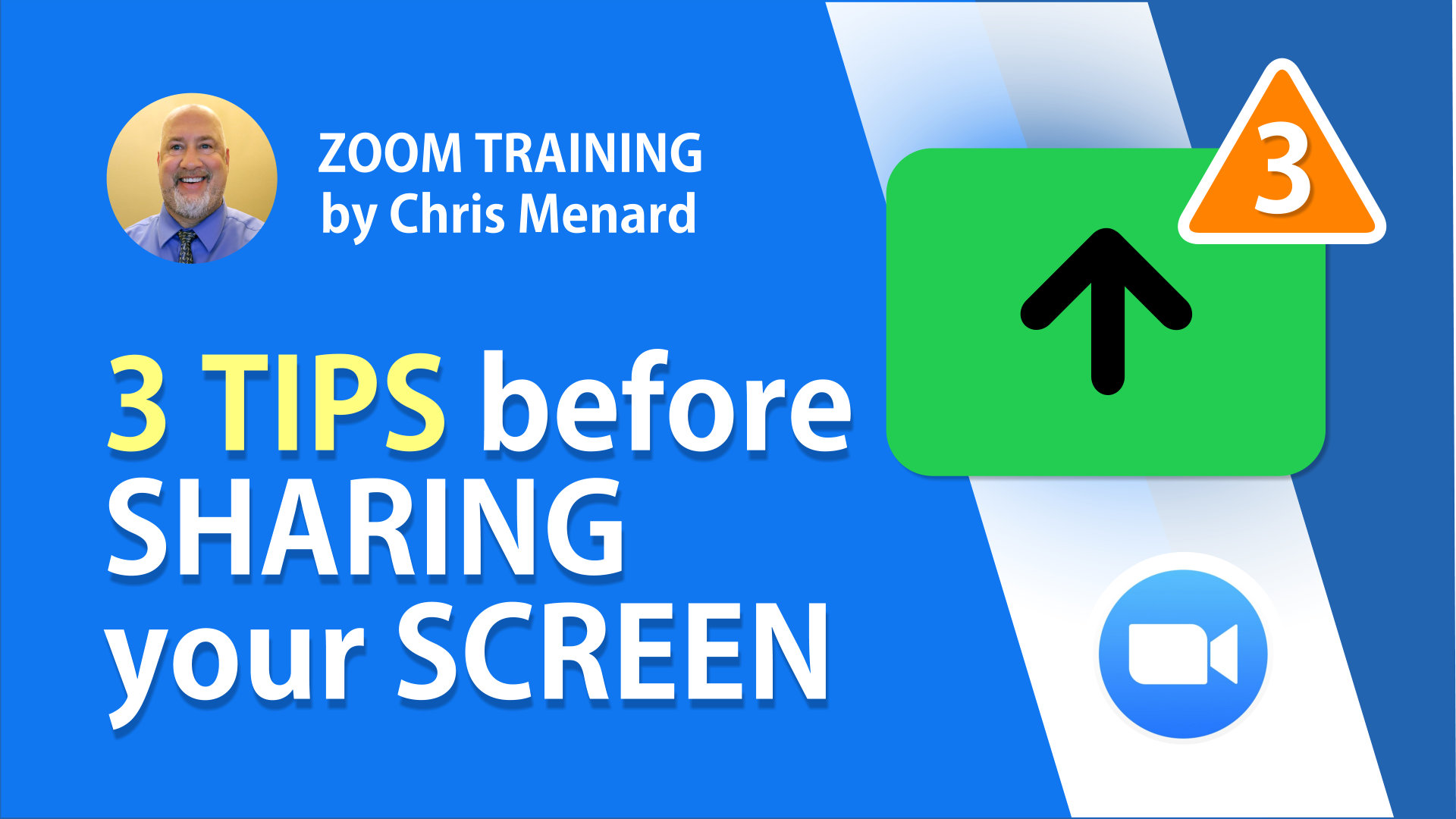 Three TIPS for Sharing Your Screen, Before You Start a Zoom Meeting