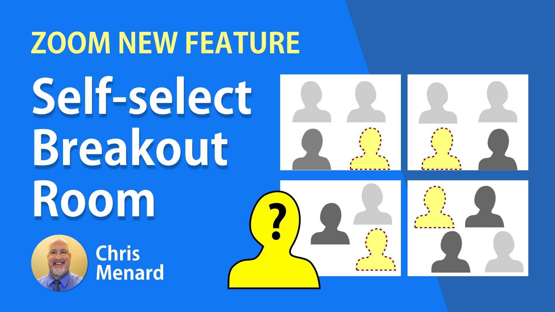Self-select Breakout Rooms in Zoom