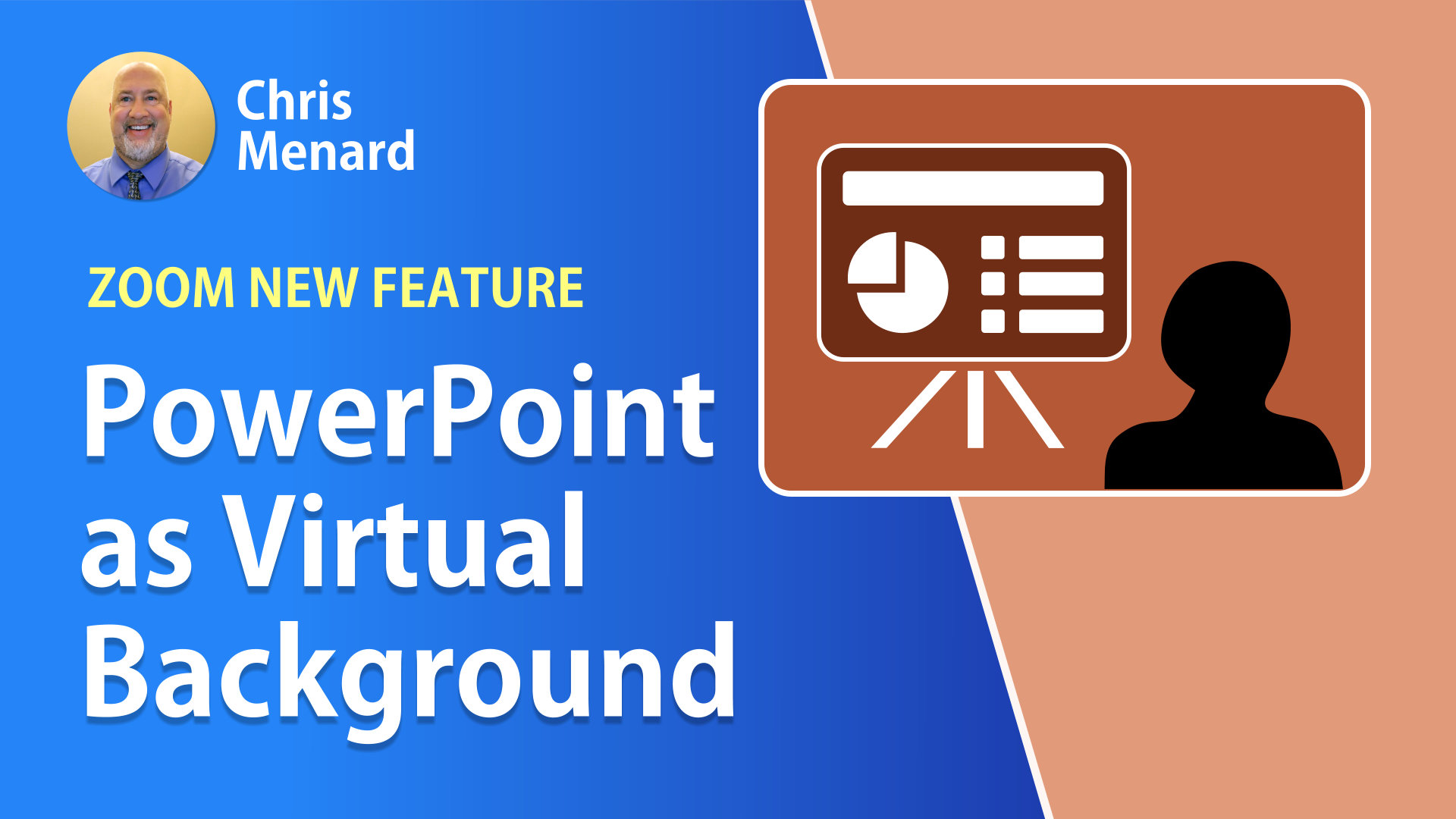 PowerPoint / Keynote as a Virtual Background