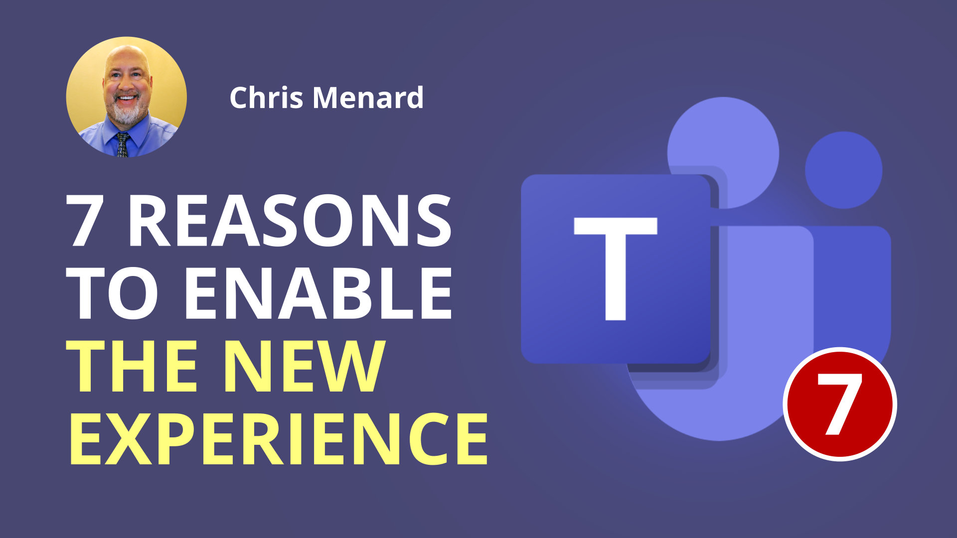 7 reasons to enable the New Meeting Experience in Teams