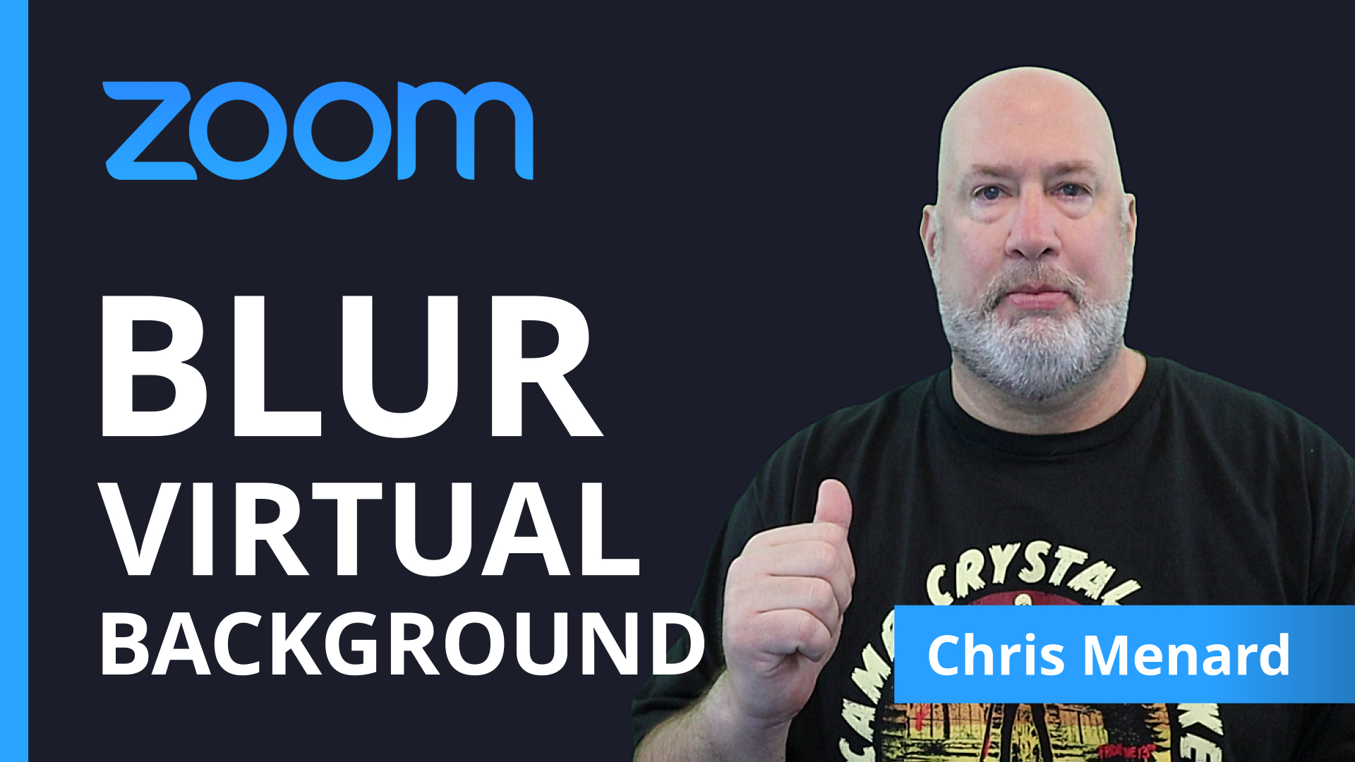 Zoom - Blur your background - virtual background - New Feature