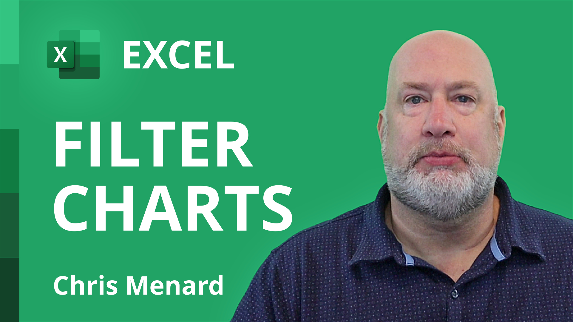 Excel Charts - three methods for filtering Chart Data