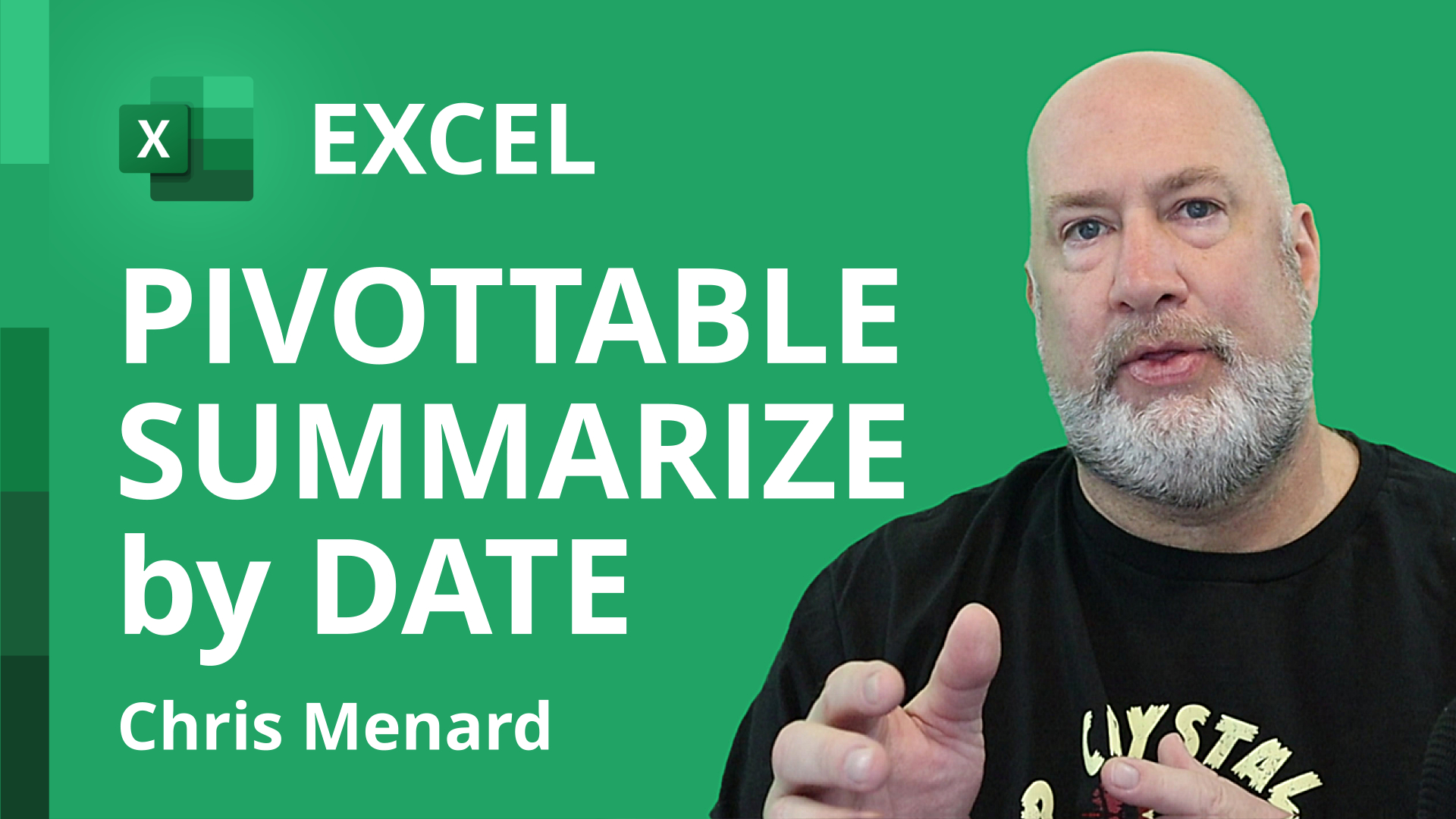 Excel PivotTable - Summarize data by Month or Day of the week