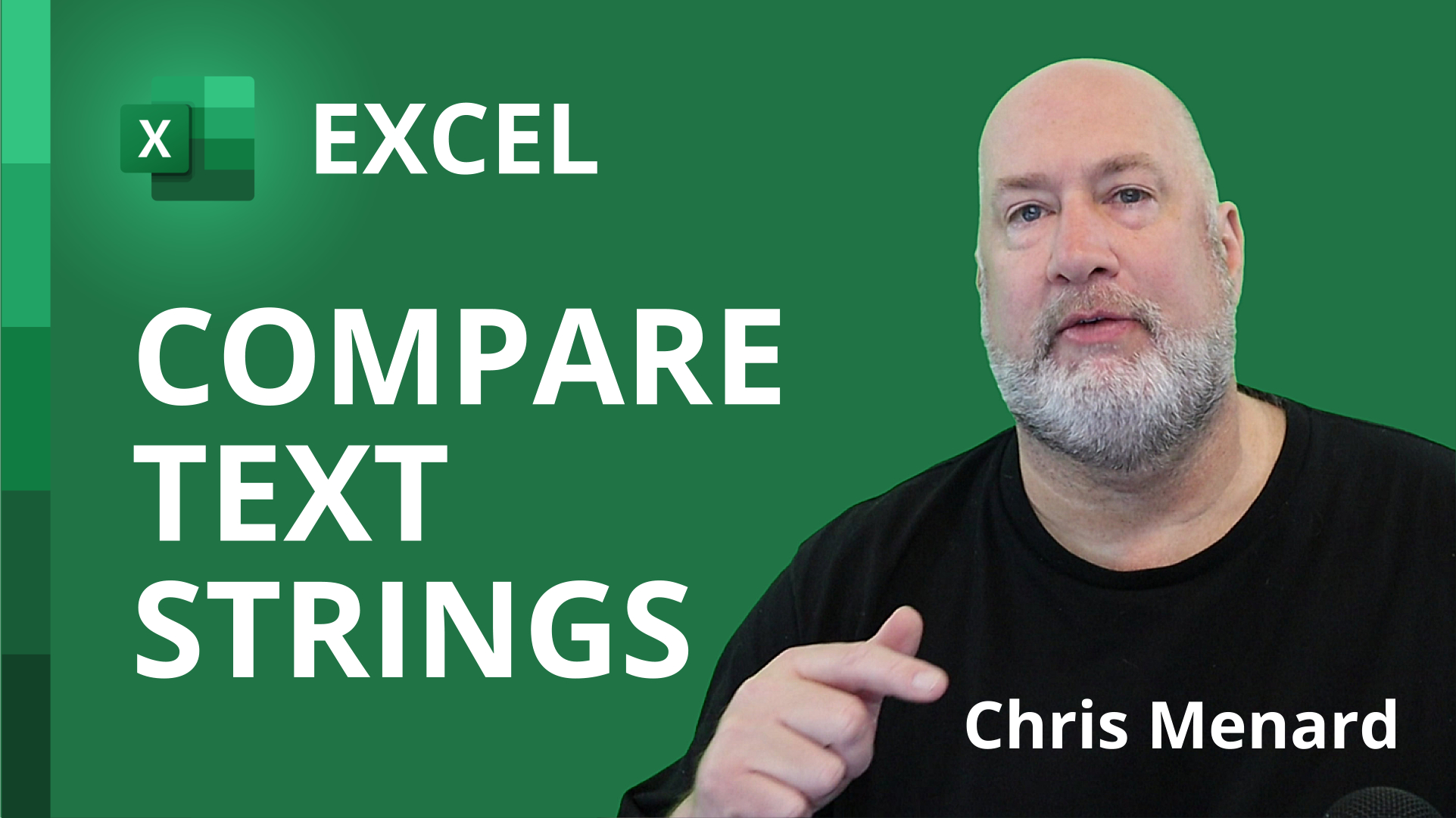 Excel compare two or more text strings