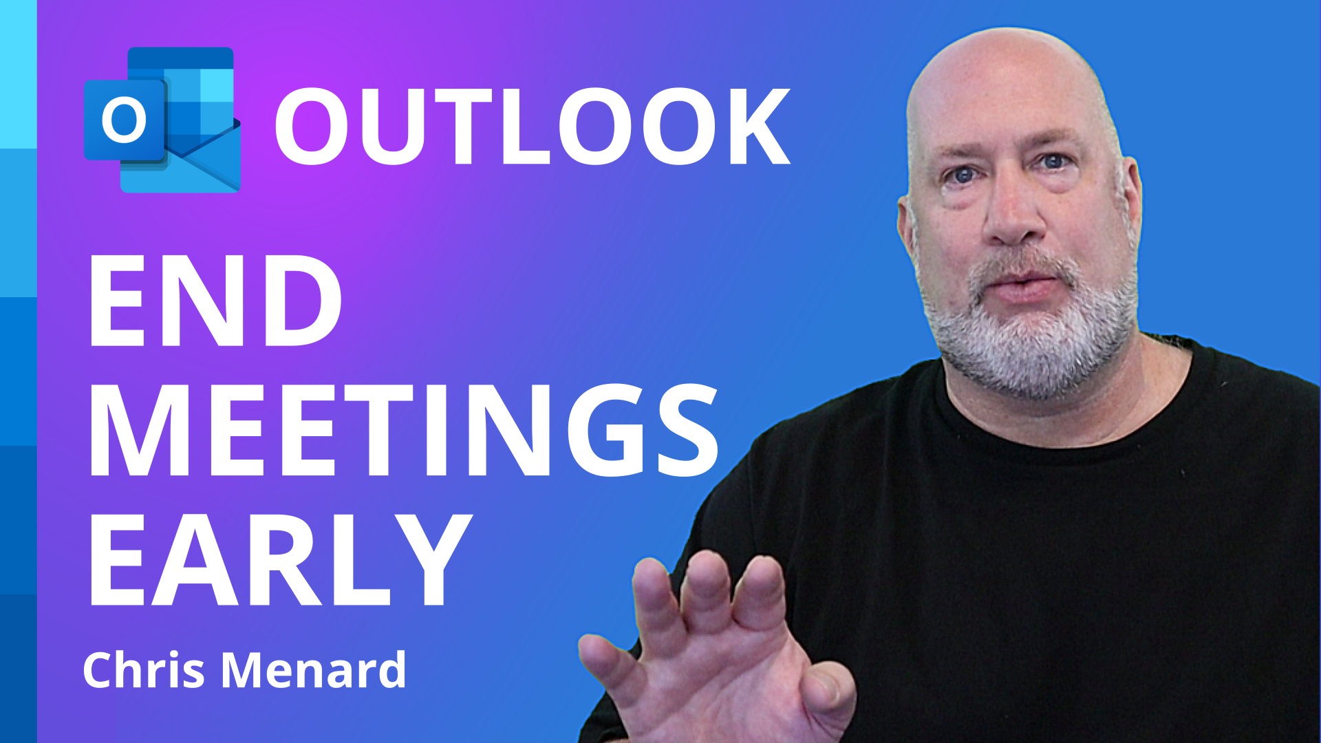 Outlook - End meetings early or start late - NEW feature 2021