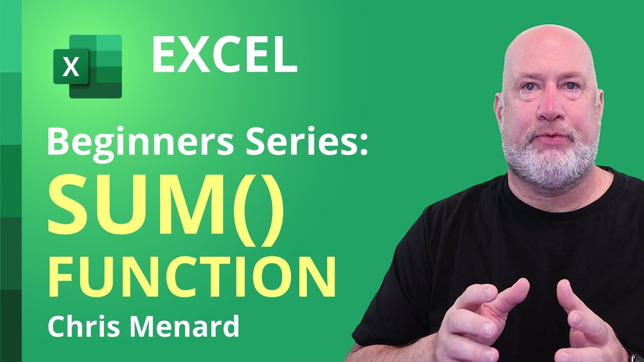 How to use the SUM Function and AUTOSUM in Microsoft Excel | Tutorial for Absolute Beginners