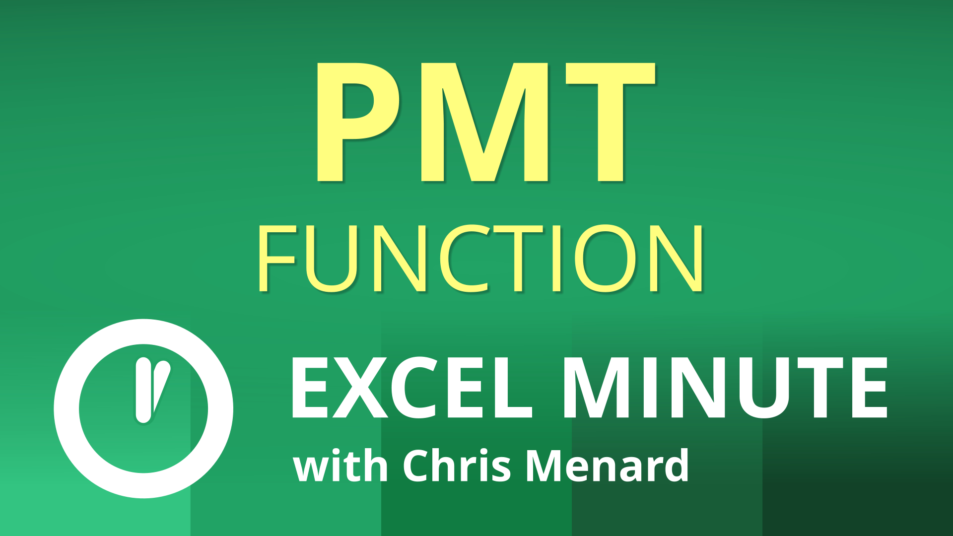 PMT Function in Excel - how to use it to calculate loan payment