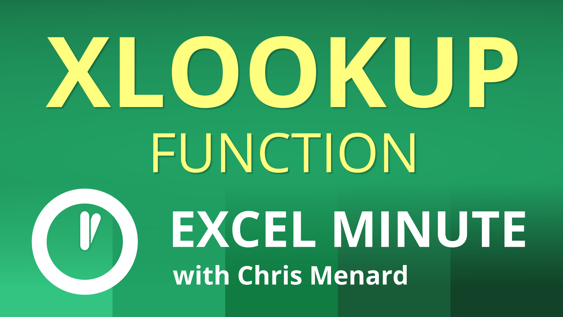 How to use XLOOKUP function in Excel