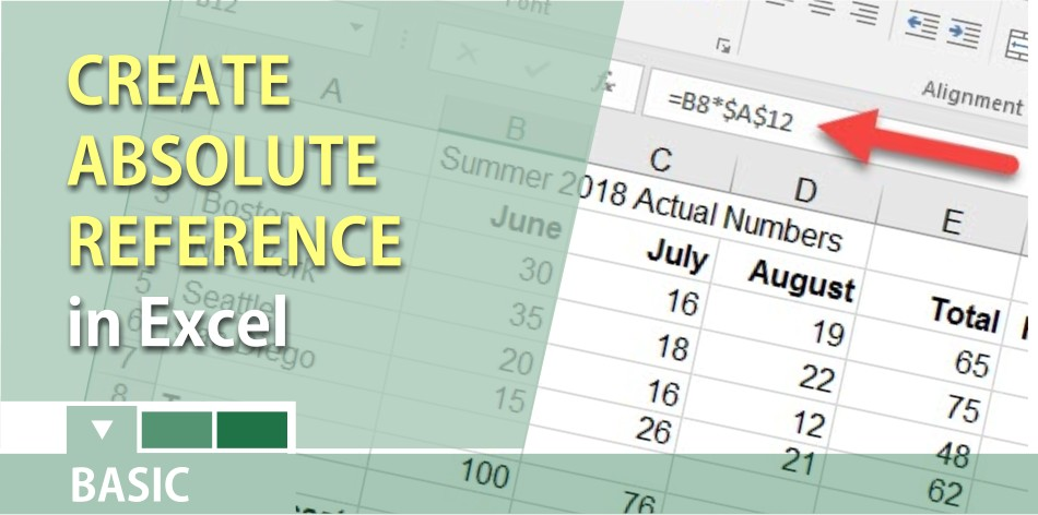 Use absolute reference in Excel to keep a cell constant when you copy or autofill