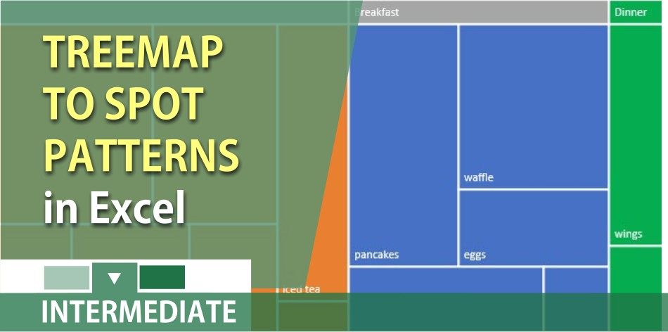 Create a treemap in Excel to spot patterns
