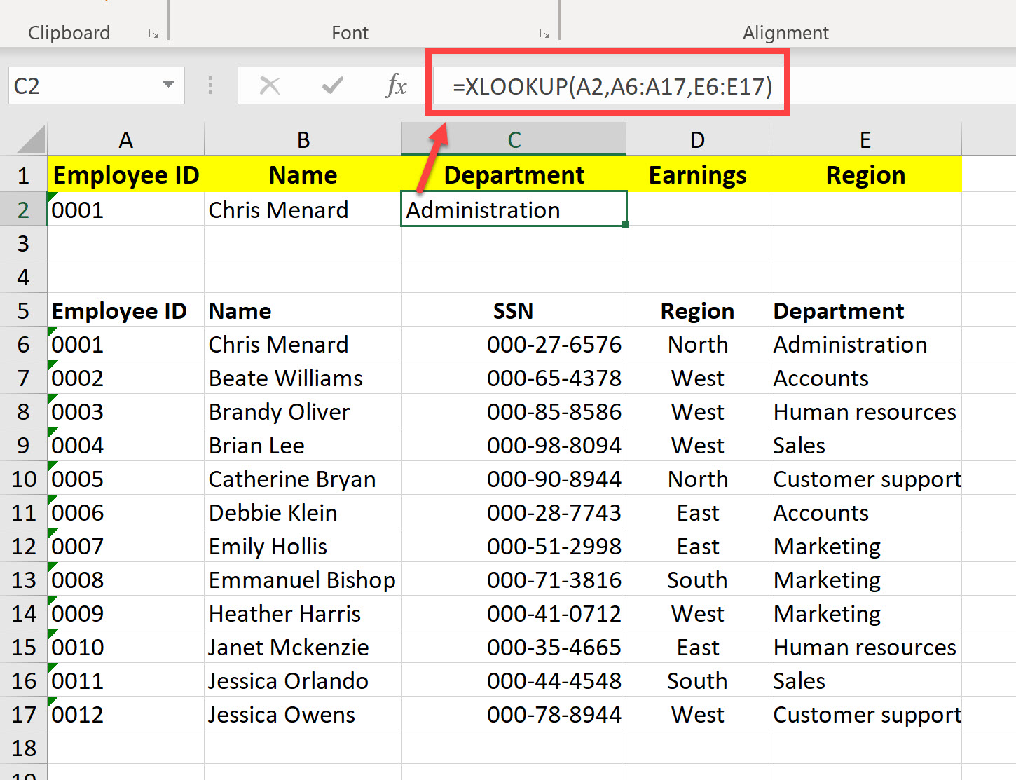 6 New Functions in Excel 2019