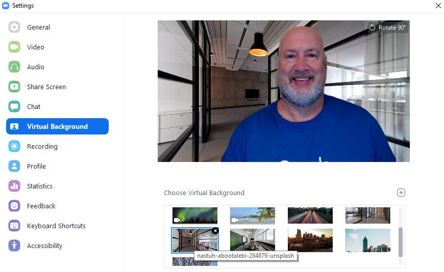 Troubleshooting Zoom Virtual Background Not Working Chris Menard Training